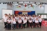 Tập huấn quyền trẻ em cho trẻ khuyết tật tại Bến Tre