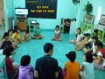 Mái ấm Hoa Sen dạy trẻ làm bạn với sách