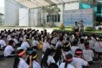 Tổ chức cho 500 em học sinh tiểu học tại Bình Chánh và Quận 8 tham quan thực tế nhà máy Suntory PepsiCo Việt Nam