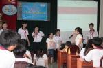 Tập huấn kỹ năng tự bảo vệ cho học sinh trường THCS Hùng Vương