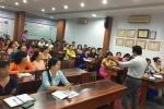 Tập huấn chuyên đề phòng chống xâm hại tình dục trẻ em cho giáo vien trường Nguyễn Huệ, Q.1, TP.HCM